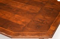 Antique Yew Wood Oyster Veneer Coffee Table (9 of 12)