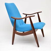 1960s Vintage Dutch Armchair by Louis Van Teeffelen (2 of 10)