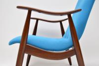 1960s Vintage Dutch Armchair by Louis Van Teeffelen (8 of 10)