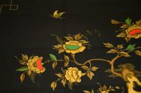 1970s Vintage Decorative Brass & Lacquered Chinoiserie Coffee Table (10 of 11)