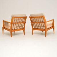 1950s Pair of Vintage Armchairs by George Stone (3 of 11)