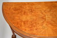 Antique Burr Walnut Console Table (7 of 9)
