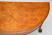 Antique Burr Walnut Console Table (8 of 9)