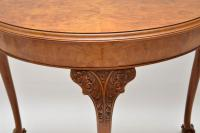 Antique Burr Walnut Console Table (4 of 9)