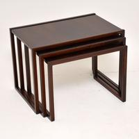 1960s Danish Rosewood Nest of Tables by Kai Kristiansen (6 of 11)