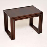 1960s Danish Rosewood Nest of Tables by Kai Kristiansen (5 of 11)