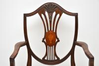 Set of 12 Mahogany Shield Back Dining Chairs (6 of 13)