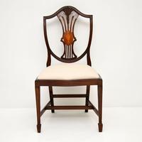 Set of 12 Mahogany Shield Back Dining Chairs (2 of 13)