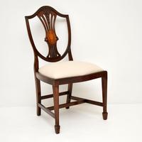 Set of 12 Mahogany Shield Back Dining Chairs (4 of 13)