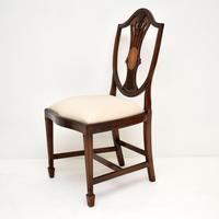Set of 12 Mahogany Shield Back Dining Chairs (12 of 13)
