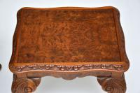 Burr Walnut Nesting Coffee Table / Side Tables c.1930 (9 of 12)
