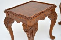 Burr Walnut Nesting Coffee Table / Side Tables c.1930 (12 of 12)