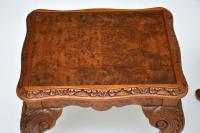 Burr Walnut Nesting Coffee Table / Side Tables c.1930 (10 of 12)