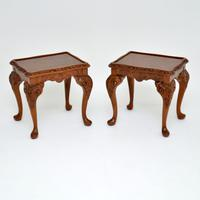 Burr Walnut Nesting Coffee Table / Side Tables c.1930 (6 of 12)