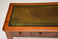 Antique Victorian Mahogany Writing Table / Desk (6 of 10)