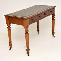 Antique Victorian Mahogany Writing Table / Desk (4 of 10)