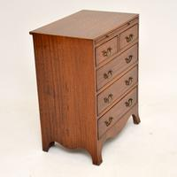 Inlaid Mahogany Bachelors Chest of Drawers (8 of 10)