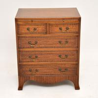 Inlaid Mahogany Bachelors Chest of Drawers (3 of 10)