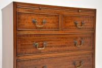 Inlaid Mahogany Bachelors Chest of Drawers (6 of 10)