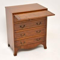 Inlaid Mahogany Bachelors Chest of Drawers (2 of 10)