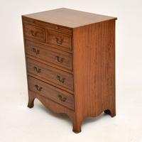 Inlaid Mahogany Bachelors Chest of Drawers (10 of 10)