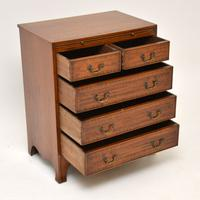 Inlaid Mahogany Bachelors Chest of Drawers (5 of 10)