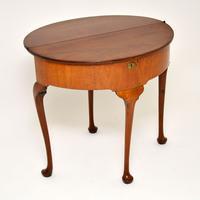 Antique Georgian Mahogany Tea Table / Console Table (3 of 9)