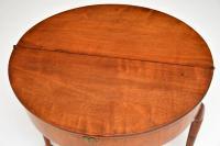 Antique Georgian Mahogany Tea Table / Console Table (5 of 9)