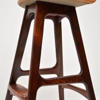 Danish Rosewood Vintage Bar Stool by Erik Buch (5 of 13)