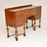 William & Mary Style Burr Walnut Sideboard c.1930 (8 of 11)