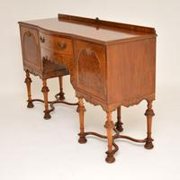 William & Mary Style Burr Walnut Sideboard c.1930 (6 of 11)