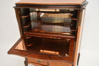 Antique French Inlaid Marquetry Drinks Cabinet (6 of 10)