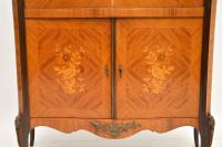 Antique French Inlaid Marquetry Drinks Cabinet (5 of 10)