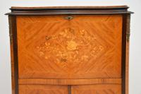 Antique French Inlaid Marquetry Drinks Cabinet (4 of 10)