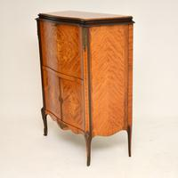 Antique French Inlaid Marquetry Drinks Cabinet (9 of 10)