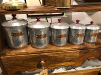 French Canisters / Spice Jars
