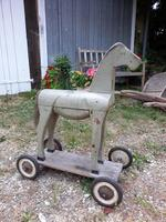 French Artisan Crafted Childs Horse c.1920