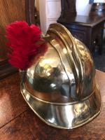 Antique French Fireman Helmet c.1895 (3 of 6)