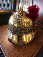 Antique French Fireman Helmet c.1895 (5 of 6)