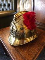 Antique French Fireman Helmet c.1895 (6 of 6)
