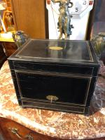 Antique Cave a Liqueur, French Tantalus Box, Empire Drinks Cabinet (6 of 9)