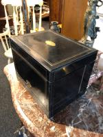 Antique Cave a Liqueur, French Tantalus Box, Empire Drinks Cabinet (7 of 9)