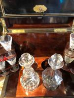 Antique Cave a Liqueur, French Tantalus Box, Empire Drinks Cabinet (3 of 9)