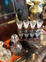 Antique Cave a Liqueur, French Tantalus Box, Empire Drinks Cabinet (4 of 9)