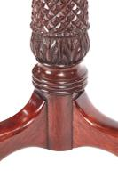 Quality Carved Mahogany Torchere / Plant Stand c.1880 (5 of 11)