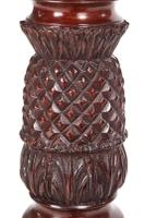 Quality Carved Mahogany Torchere / Plant Stand c.1880 (7 of 11)