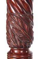 Quality Carved Mahogany Torchere / Plant Stand c.1880 (8 of 11)