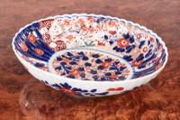 Antique Japanese Imari Oval Bowl