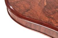 Fine Quality Burr Walnut Shaped Centre Table c.1850 (3 of 9)