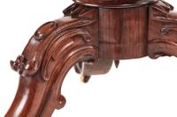 Fine Quality Burr Walnut Shaped Centre Table c.1850 (6 of 9)